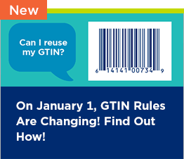 Can I reuse my GTIN? On January 1, GTIN Rules are Changing! Find Out How!